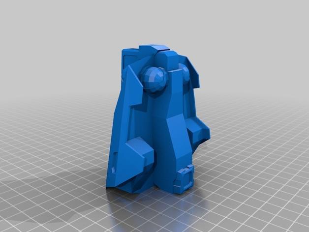 游戏《克隆战争》中的步行机 3D模型  图8
