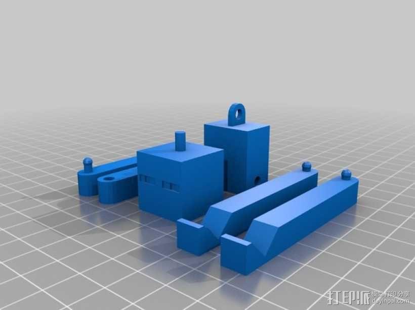 末影人模型 3D模型  图2