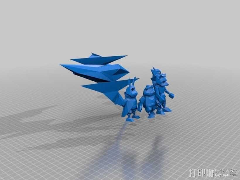 《星际火狐》玩偶 3D模型  图3