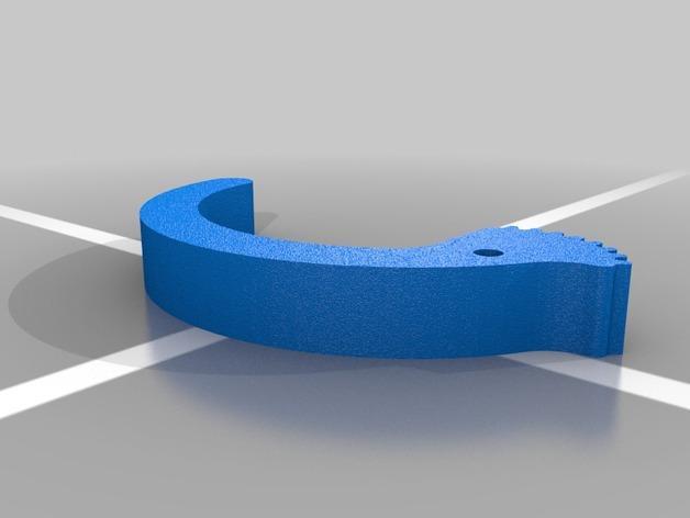 简易机械夹 3D模型  图2