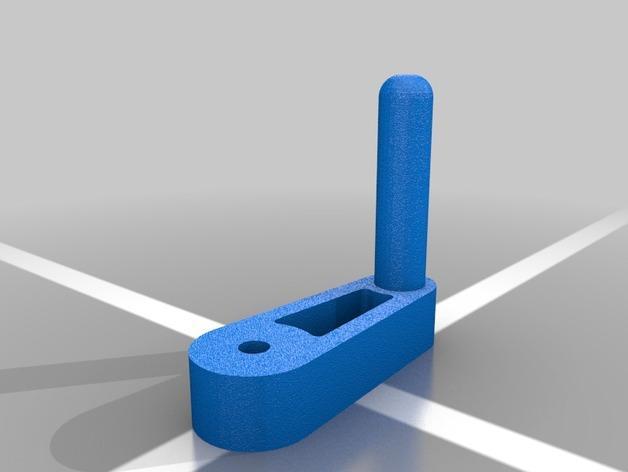 简易机械夹 3D模型  图4
