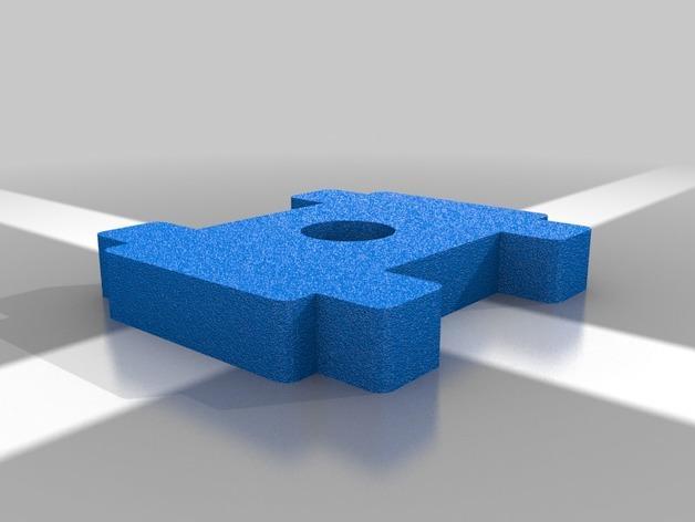 简易机械夹 3D模型  图5