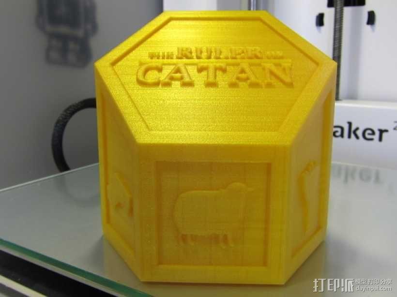 3D打印桌游奖杯 3D模型  图1
