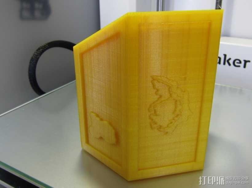 3D打印桌游奖杯 3D模型  图3