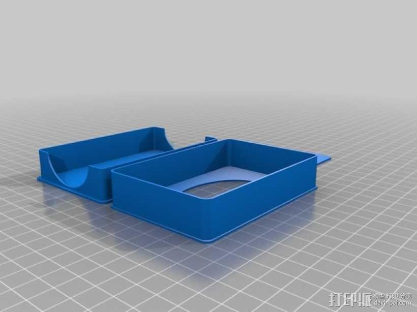 游戏卡收纳盒 3D模型  图3