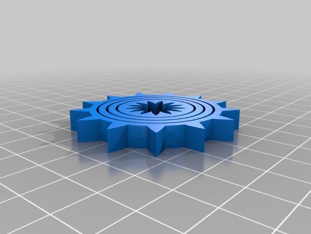 可定制化的数字陀螺仪 3D模型  图4