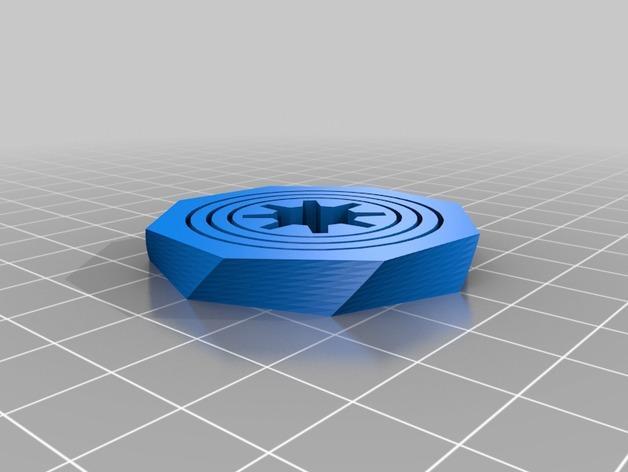 可定制化的数字陀螺仪 3D模型  图3