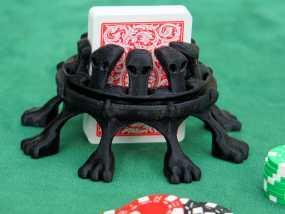 扑克牌架 3D模型