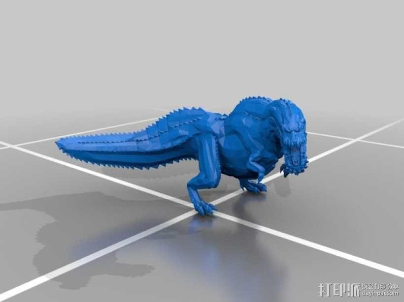 恐龙模型 3D模型  图2
