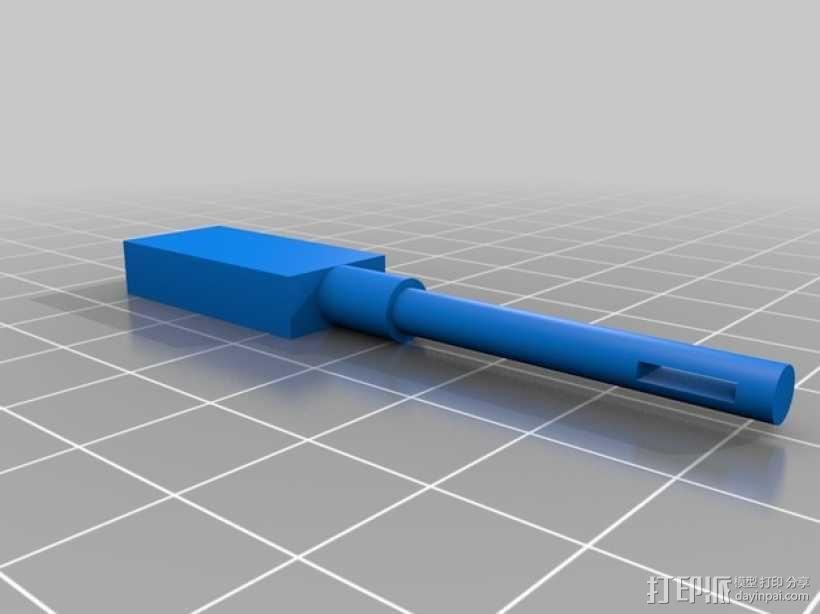 迷你玩具盒模型 3D模型  图2
