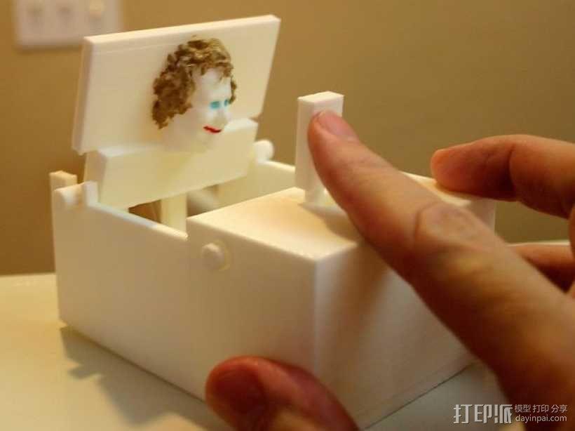 迷你玩具盒模型 3D模型  图1