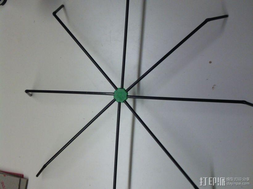 简易蜘蛛模型 3D模型  图1
