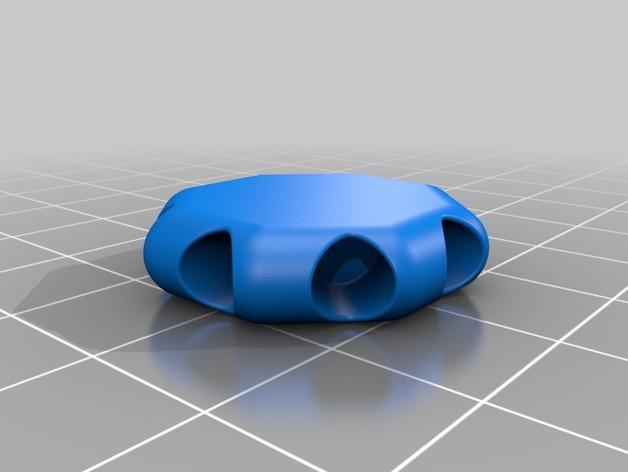 简易蜘蛛模型 3D模型  图2