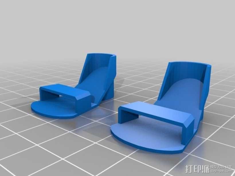 迷你鞋帽 3D模型  图3