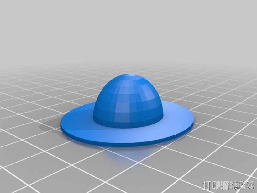 迷你鞋帽 3D模型  图4