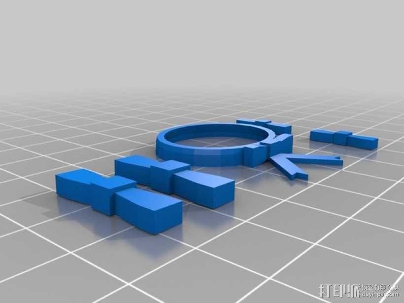 迷你鞋帽 3D模型  图5
