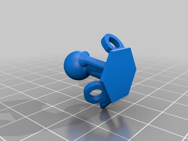球形锁子甲模型 3D模型  图2