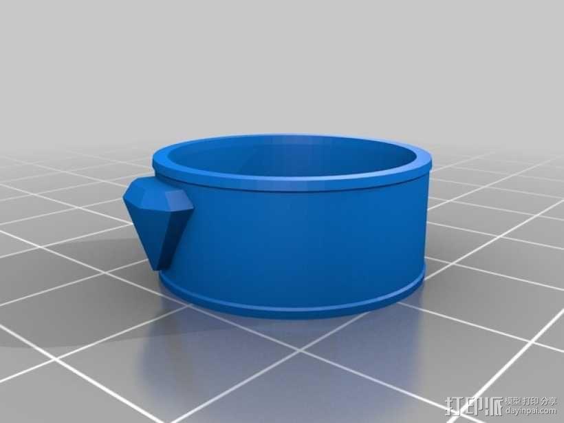 马蹄拼图 3D模型  图2