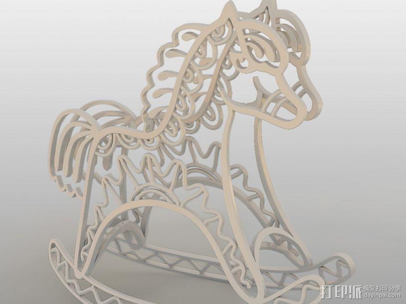 2014年马年吉祥 3D模型  图1
