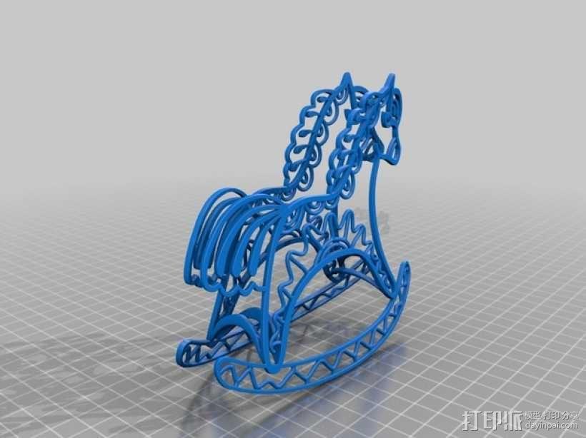2014年马年吉祥 3D模型  图2