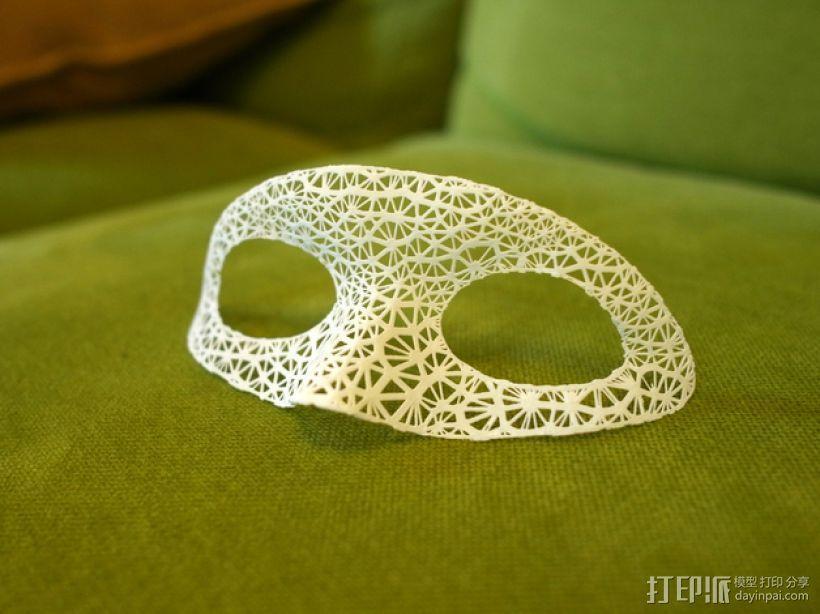 超好看的面具模型 3D模型  图1
