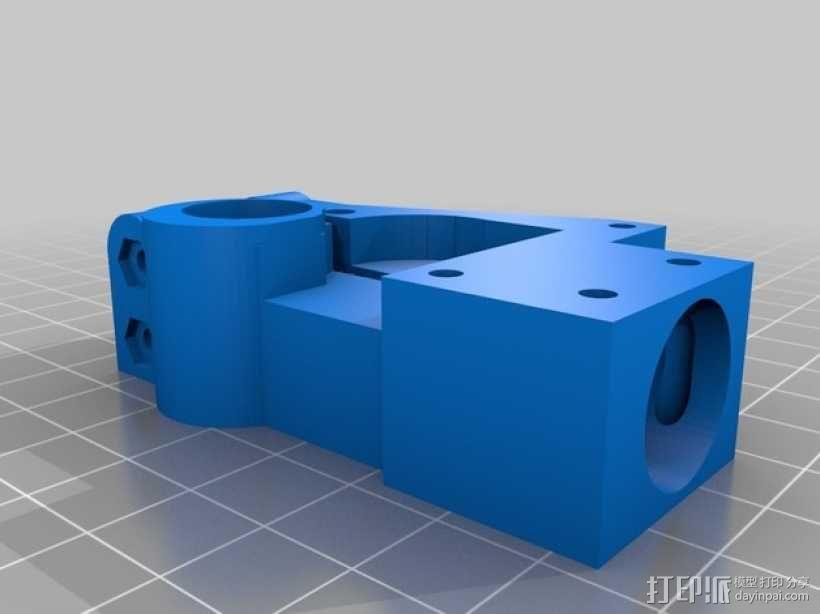 迷你挤出机1.75版 3D模型  图1