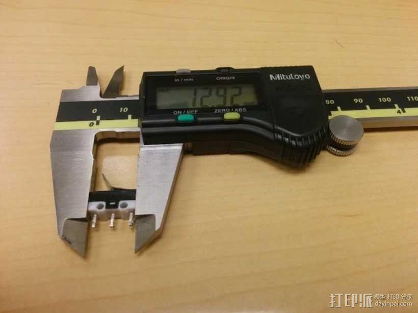 迷你计时器支架模型 3D模型  图1