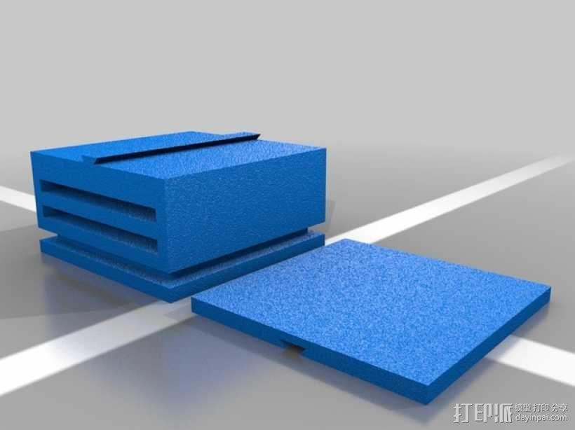 迷你滑梯模型 3D模型  图1