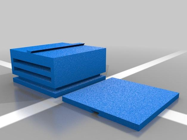 迷你滑梯模型 3D模型  图2