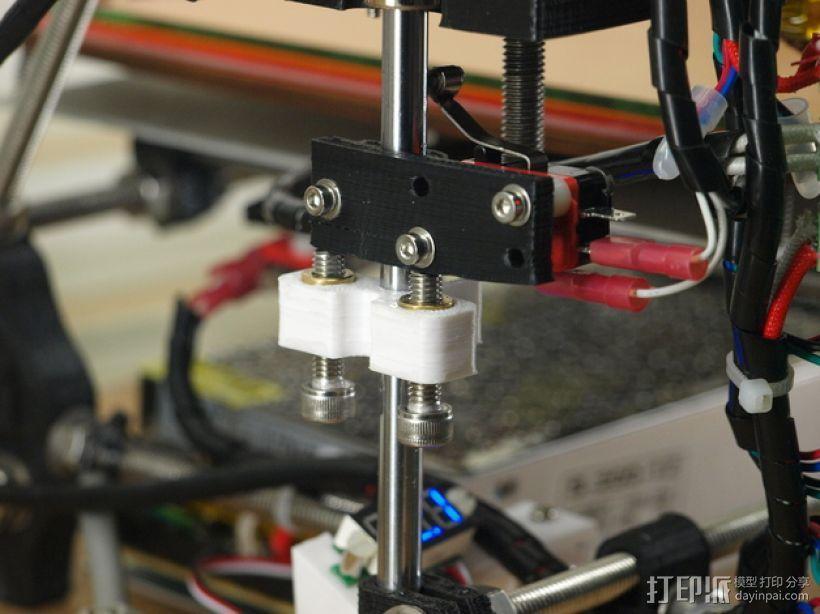 打印机Z轴为调节器模型 3D模型  图1