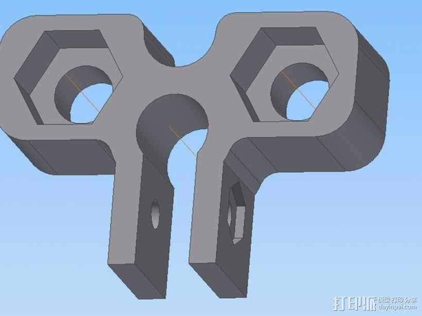 打印机Z轴为调节器模型 3D模型  图3