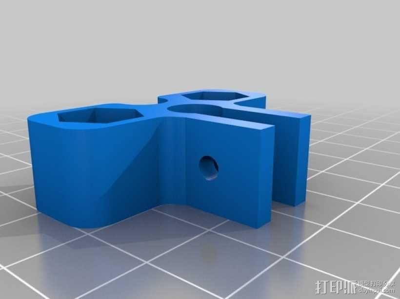 打印机Z轴为调节器模型 3D模型  图2