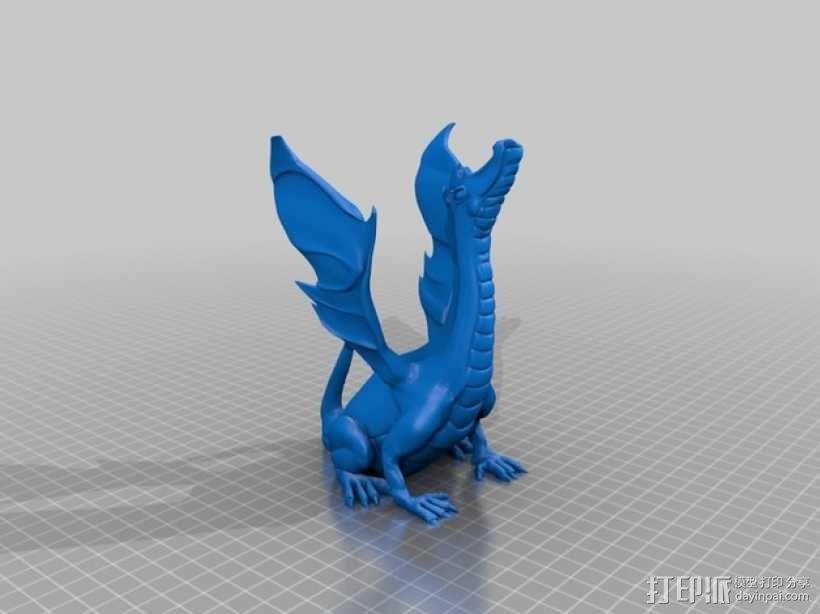唱歌的恐龙 3D模型  图1