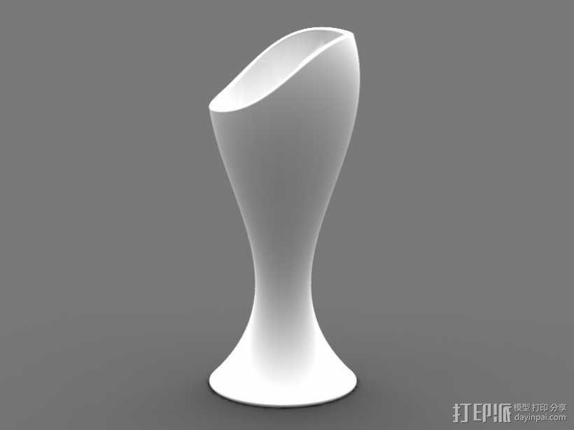 艺术花瓶 3D模型  图1
