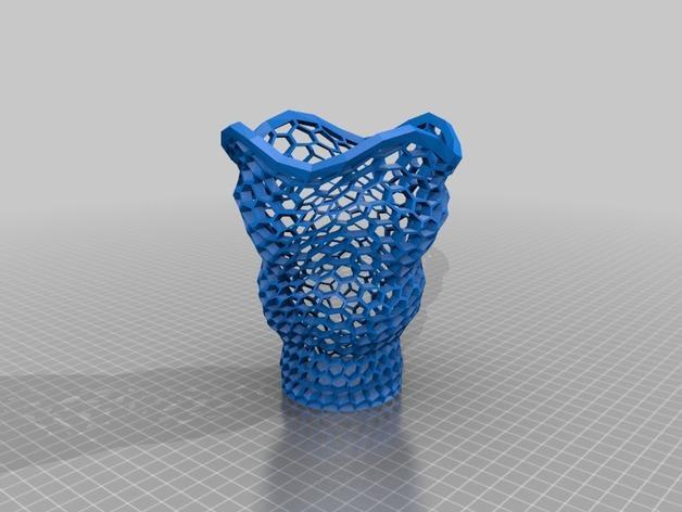 时髦的笔筒 3D模型  图2