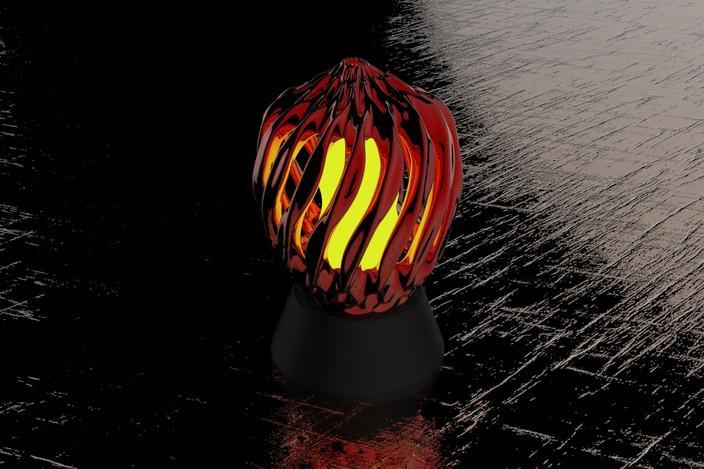 床头灯罩 3D模型  图4