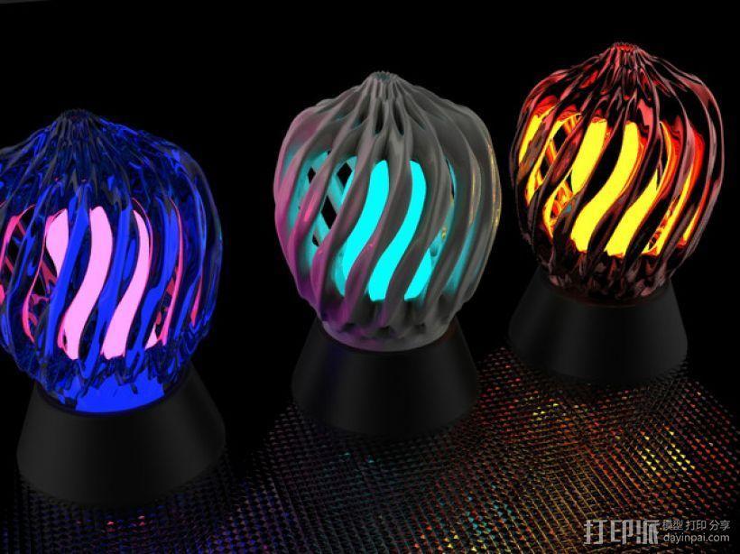 床头灯罩 3D模型  图5