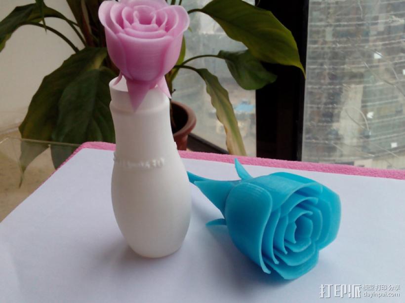 玫瑰花 3D打印制作  图4