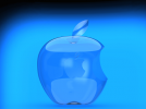 苹果标志 3D模型 图1