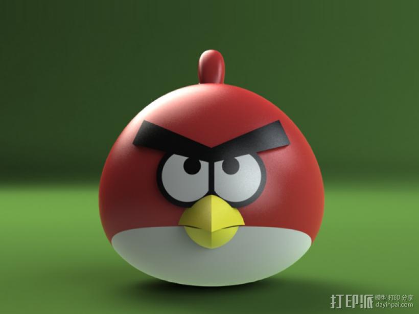 愤怒的小鸟 3D模型  图5