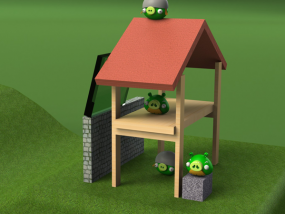 坏猪猪 3D模型