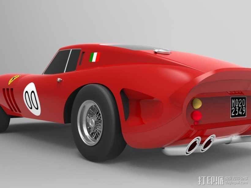 法拉利小汽车 3D模型  图1