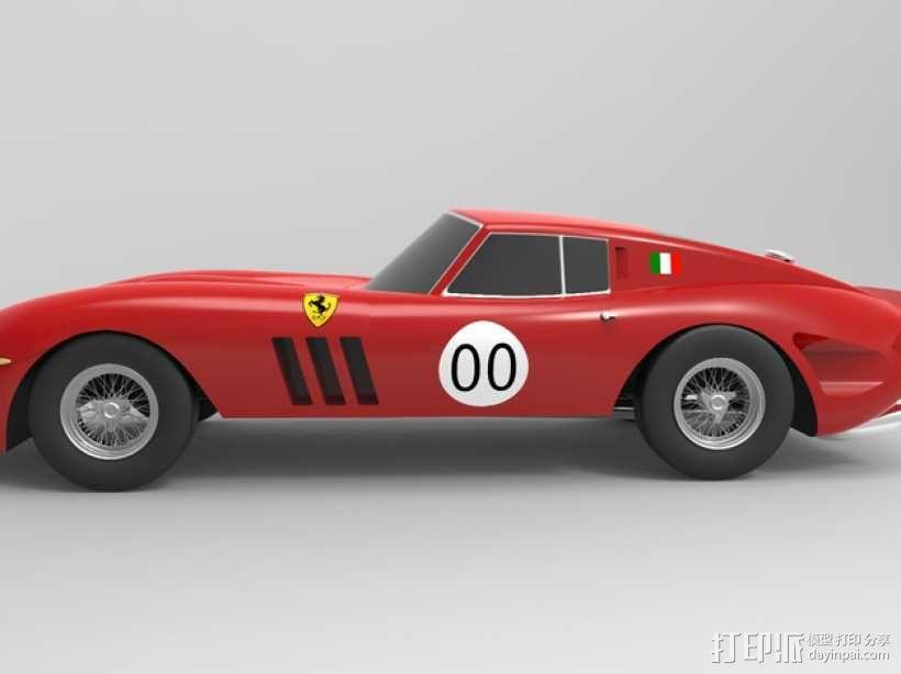 法拉利小汽车 3D模型  图5