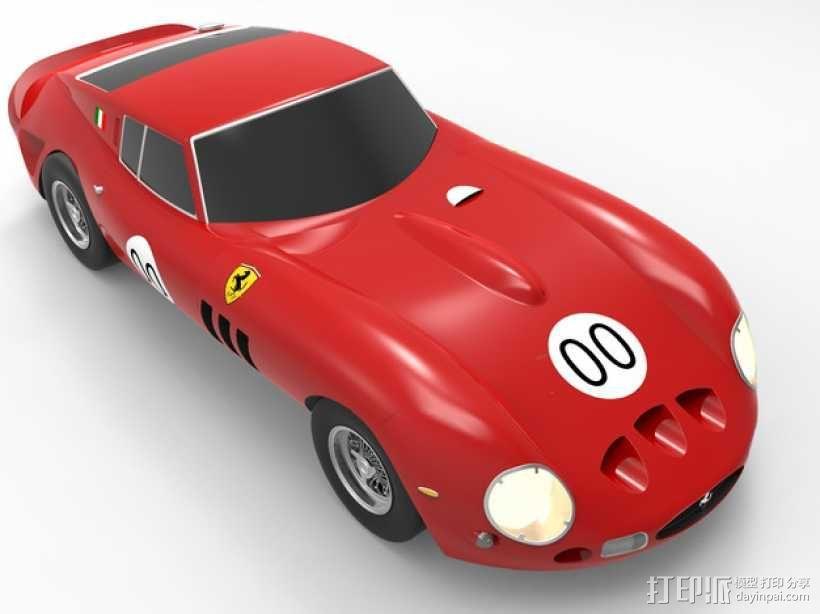 法拉利小汽车 3D模型  图2