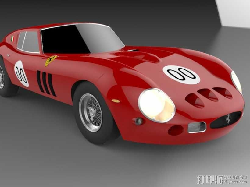 法拉利小汽车 3D模型  图4