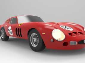 法拉利小汽车 3D模型