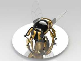 黄蜂 3D模型