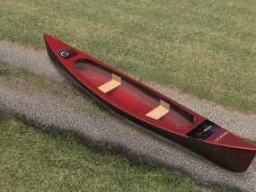 独木舟 3D模型