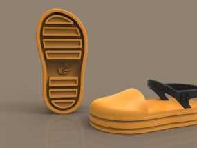儿童鞋子 3D模型