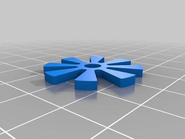 橙色口哨 3D模型  图2